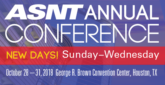 2018 ASNT Annual Conference Abstract Submission Closing Soon_image